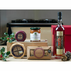After Dinner Cheese, Biscuits & Brandy Christmas Hamper