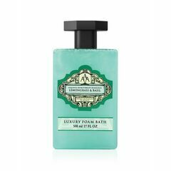 Somerset Toiletry Co Lemongrass & Basil Aromatherapy Foam Bath 500ml