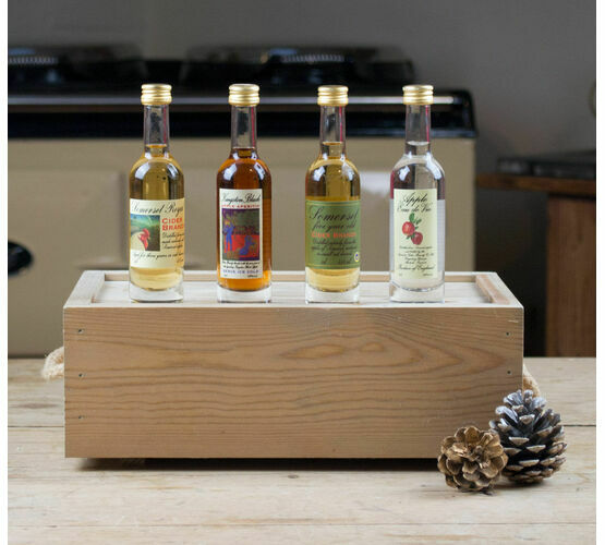 Apples Four Ways Brandy Gift Box